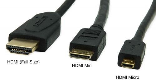 CONECTORES HDMI MINI MICRO Y NORMAL